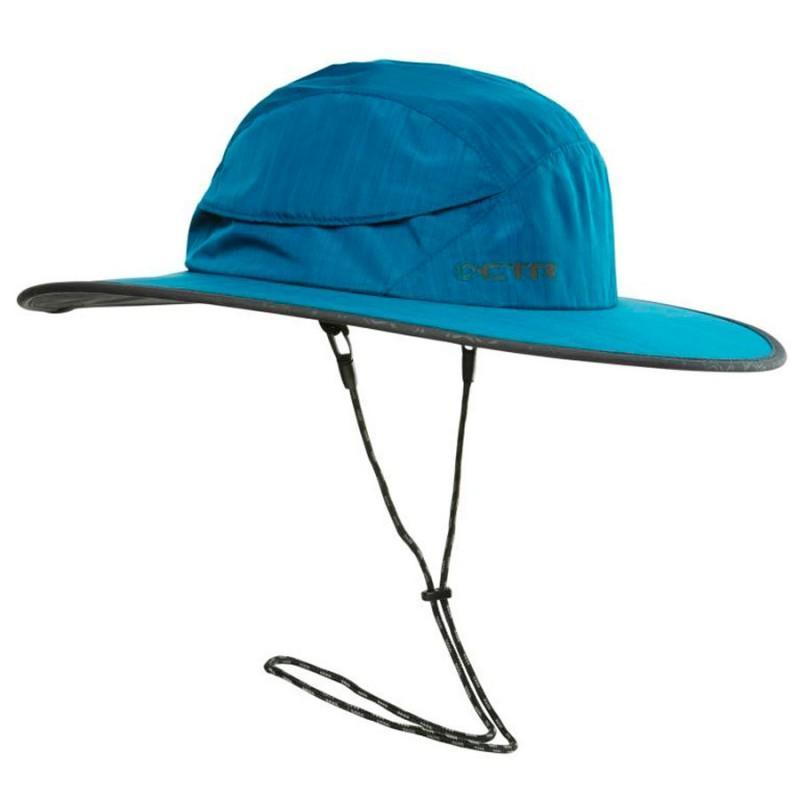 Панама Chaos  Stratus SombreroПанамы<br><br> В путешествии, в походе или в длительной прогулке сложно обойтись без удобной панамы, такой как Chaos Stratus Sombrero. Эта широкополая шляпа служит отличной защитой не только от обжигающих солнечных лучей, но и от дождя.<br><br><br> Особенност...<br><br>Цвет: Синий<br>Размер: L-XL