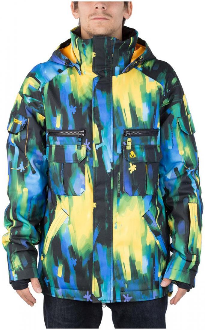 Куртка утепленная MistКуртки<br><br><br>Цвет: Синий<br>Размер: 54