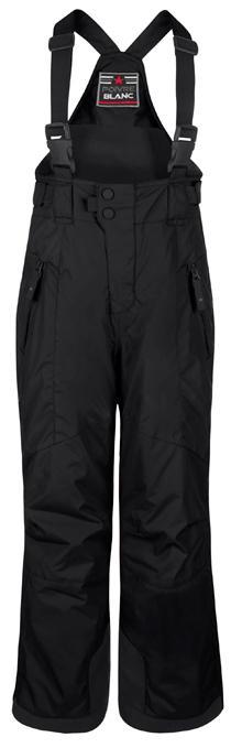 Брюки на лямках 0922-JRBY детскиеБрюки, штаны<br>Зимние мембранные теплые брюки на подтяжках для мальчиков. Снегозащитные гетры с силиконовой тесьмой, утепленная флисовая спинка, высокая грудка на молнии, анатомический крой, эластичные лямки с пластиковыми клипсами, усиленные вставки от истирания по низ...<br><br>Цвет: Черный<br>Размер: 10A