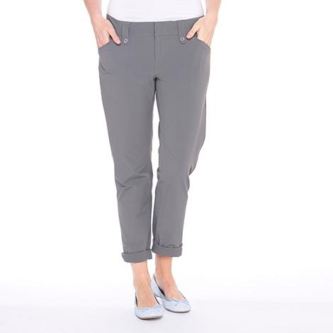 Брюки LSW1304 ROMINA PANTSБрюки, штаны<br><br> Элегантные женские брюки Lole Romina Pants имеют длину 7/8. Модель LSW1304 отлично подходит для прогулок в жаркую погоду. Легкие и удобные, они не стесняют движения, быстро испаряют влагу и защищают вредного воздействия солнечных лучей.<br><br>...<br><br>Цвет: Серый<br>Размер: 4