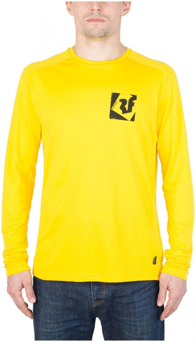Футболка Trek T LS МужскаяФутболки, поло<br><br> Легкая и функциональная футболка, выполненная из влагоотводящего и быстросохнущего материала.<br><br><br>основное назначение: горные походы, треккинг, туризм<br>свободный крой<br>комфортный вырез горловины округлой формы...<br><br>Цвет: Желтый<br>Размер: 54