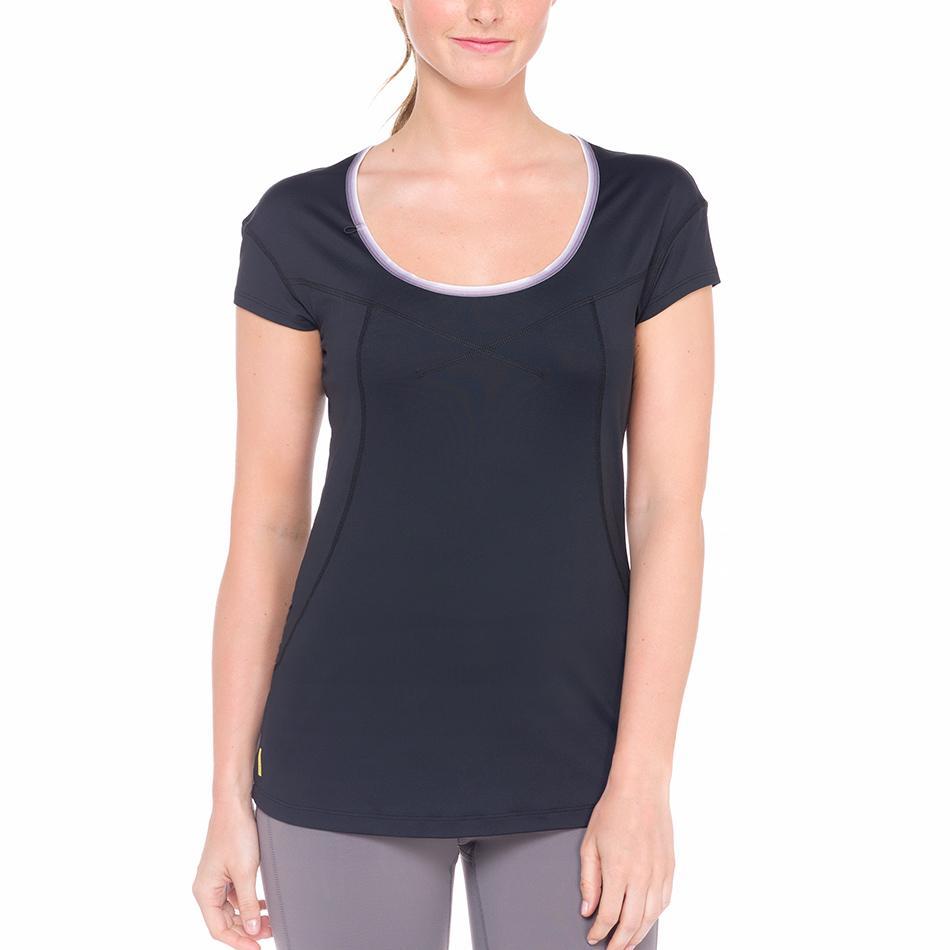 Футболка LSW1320 CARDIO T-SHIRTФутболки, поло<br><br> Lole Cardio T-Shirt это классическая однотонная женская футболка. В ней приятно и комфортно проводить фитнес-тренировки или заниматься бегом. Легкая и мягкая ткань быстро отводит влагу и позволя...<br><br>Цвет: Черный<br>Размер: L