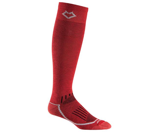Носки лыжные 5020 VailНоски<br><br><br>Цвет: Красный<br>Размер: L