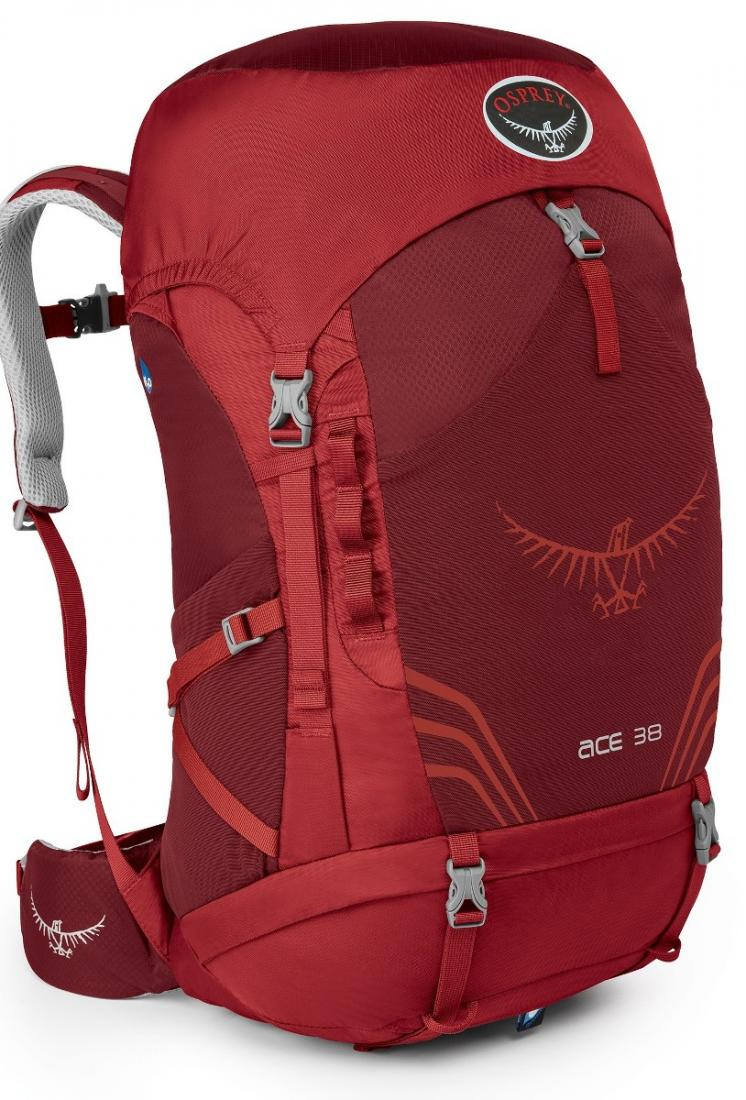 Фото - Рюкзак Ace 38 от Osprey Рюкзак Ace 38 (, Paprika Red, ,)