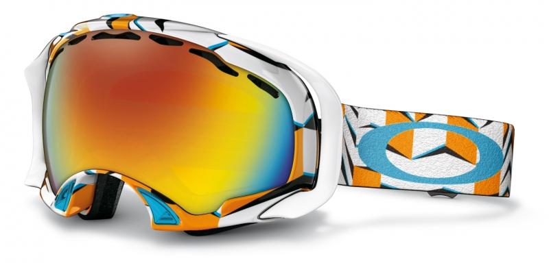 Купить Маска г/л Splice (, Cubism Orange Blue Iridium, ,), Oakley