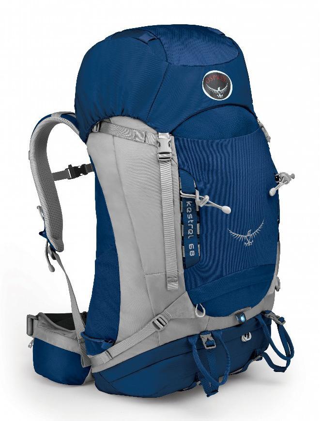 Рюкзак Kestrel 68Рюкзаки<br><br> Универсальные всесезонные рюкзаки серии Kestrel разработаны для самых разных видов Outdoor активности. Специальная накидка от дождя защитит рюкзак и вещи от промокания. Хорошо вентилируемая регулируемая спина AirSpeed™ позволяет сбалансировать цент...<br><br>Цвет: Синий<br>Размер: 68 л