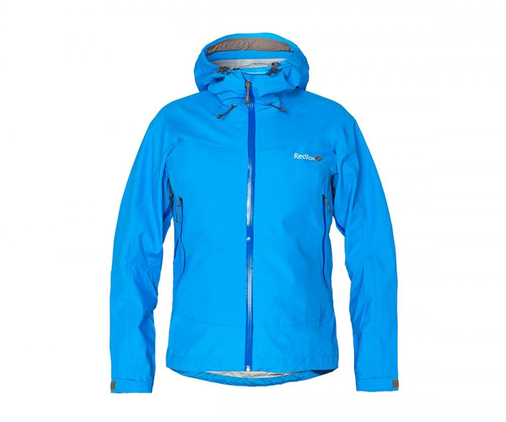 Куртка ветрозащитная VinsonКуртки<br><br> Классическая трехслойная штормовая куртка, выполненна из очень прочного материала с высокой сопротивляемостью к абразивному износу.<br>...<br><br>Цвет: Голубой<br>Размер: 42