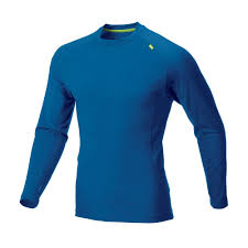 Фото - Футболка Base elite™ 150 merino LS M от Inov-8 Футболка Base elite™ 150 merino LS M (XL, Blue/Lime, ,)