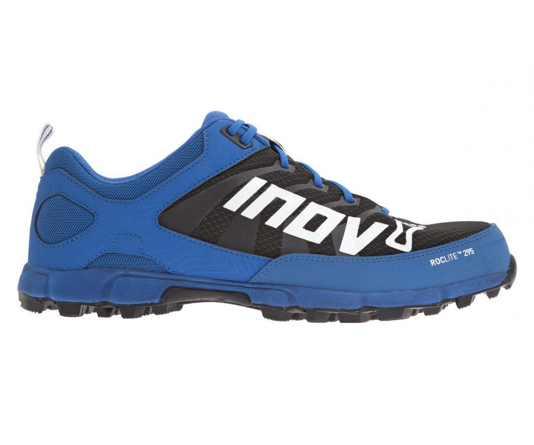 Кроссовки Roclite 295Бег, Мультиспорт<br>Кроссовки для бега на длинные дистанции или в качестве начальной модели для минималистичного бега. Жесткие и надежные кроссовки обеспечив...<br><br>Цвет: Синий<br>Размер: 7.5