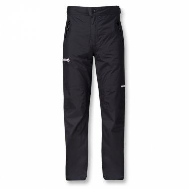 Брюки ветрозащитные Rain Fox II GTXБрюки, штаны<br><br> Легкие и компактные штормовые брюки-самосбросы из серия Nordic Style.  <br> <br><br>Материал –  сверхлегкая мембранная ткань GORE-TEX® Paclite.<br> <br>Посадка – Regular Fit.<br>Анатомический крой колена. <br>...<br><br>Цвет: Черный<br>Размер: 46