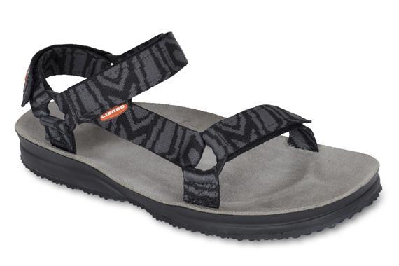 Сандалии HIKEСандалии<br>Легкие и прочные сандалии для различных видов outdoor активности<br><br>Верх: тройная конструкция из текстильной стропы с боковыми стяжками и застежками Velcro для прочной фиксации на ноге и быстрой регулировки.<br>Стелька: кожа.<br>&lt;...<br><br>Цвет: Черный<br>Размер: 36