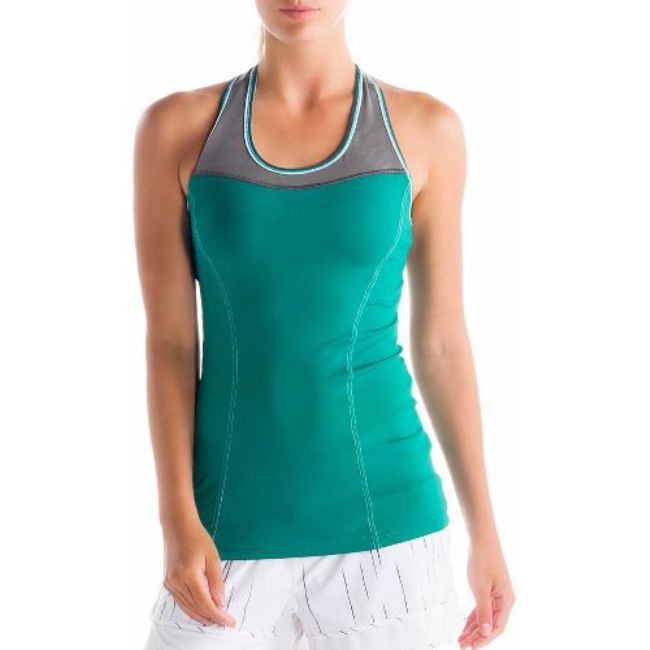 Lole Топ LSW0907 CENTRAL 2 TANK TOP (XS, GLADE GREEN, ,)