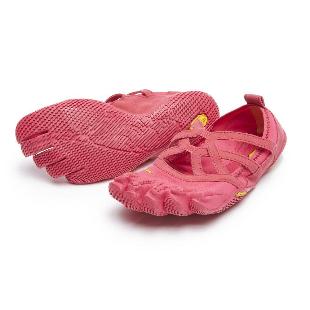 Мокасины FIVEFINGERS Alitza Loop WVibram FiveFingers<br><br><br> Красивая модель Alitza Loop идеально подходит тем, кто ценит оптимальное сцепление во время босоногой ходьбы. Эта минималистичная обувь отлично подходит для занятий фитнесом, балетом и танцами. Модель Alitza Loop очень лёгкая, дышащая и не стесня...<br><br>Цвет: Розовый<br>Размер: 41