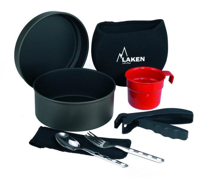 Laken Набор посуды 6011FN антипригарный в неопреновом чехле (, , , 17см)
