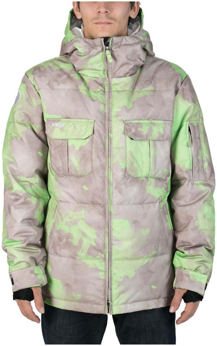 Куртка пуховая FroSTКуртки<br><br><br>Цвет: Серый<br>Размер: 46