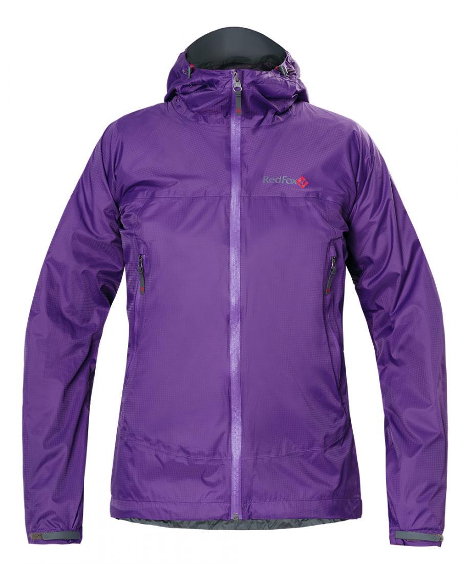 Куртка ветрозащитная Long Trek ЖенскаяКуртки<br><br> Надежная, легкая штормовая куртка; защитит от дождя и ветра во время треккинга или путешествий; простая конструкция модели удобна и для жизни в городе вдождливую погоду. Подкладка из легкой сетки придает дополнительный комфорт: куртку можно надева...<br><br>Цвет: Фиолетовый<br>Размер: 42