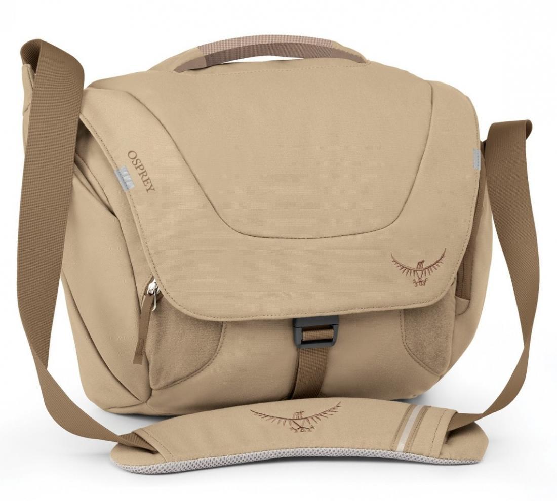 Сумка Flap Jill MiniСумки<br>Стильная и удобная женская сумка через плечо Flap Jill Mini имеет несколько функциональных особенностей, способных облегчить «жизнь на ходу». Идеальна для недолгих поездок по магазинам. Откидной клапан с пряжкой и застежкой Velcro обеспечивает быстрый ...<br><br>Цвет: Бежевый<br>Размер: 9 л