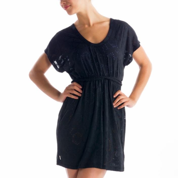 Lole Платье LSW0944 RUMBA 2 DRESS (M, SANAA BLACK, ,) lole свитер lsw1974 moss sweater xl rumba red heather