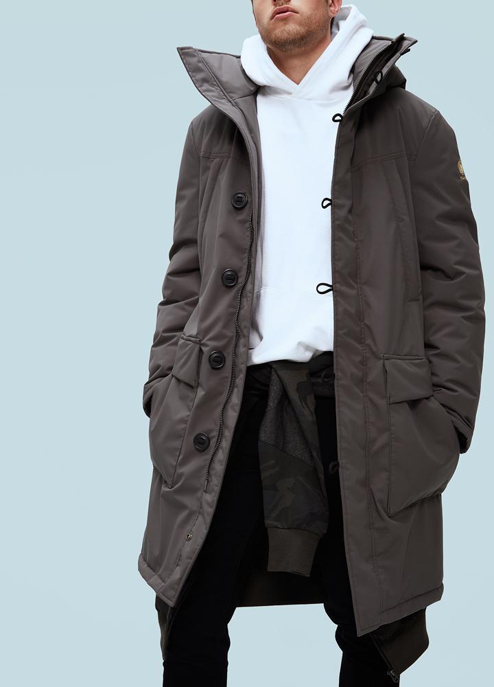 Kanuk Куртка мужская Mineral H ThinDown M No fur (M\M, Charcoal, , ,) парка geox m7428e t2409 f4300