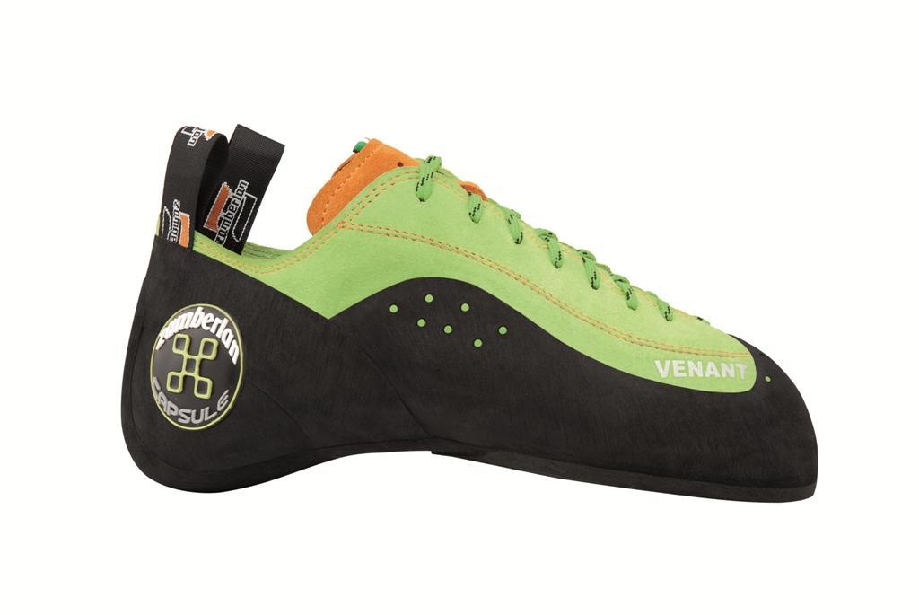 Скальные туфли A58 VENANTСкальные туфли<br><br> Скальные туфли для профессиональных скалолазов. Особая колодка для профессиональных занятий скалолазанием, сверх асимметрия позволяет этой обуви наилучшим образом проявить себя во время самых экстремальных восхождений и при самом высоком и мастерск...<br><br>Цвет: Зеленый<br>Размер: 38
