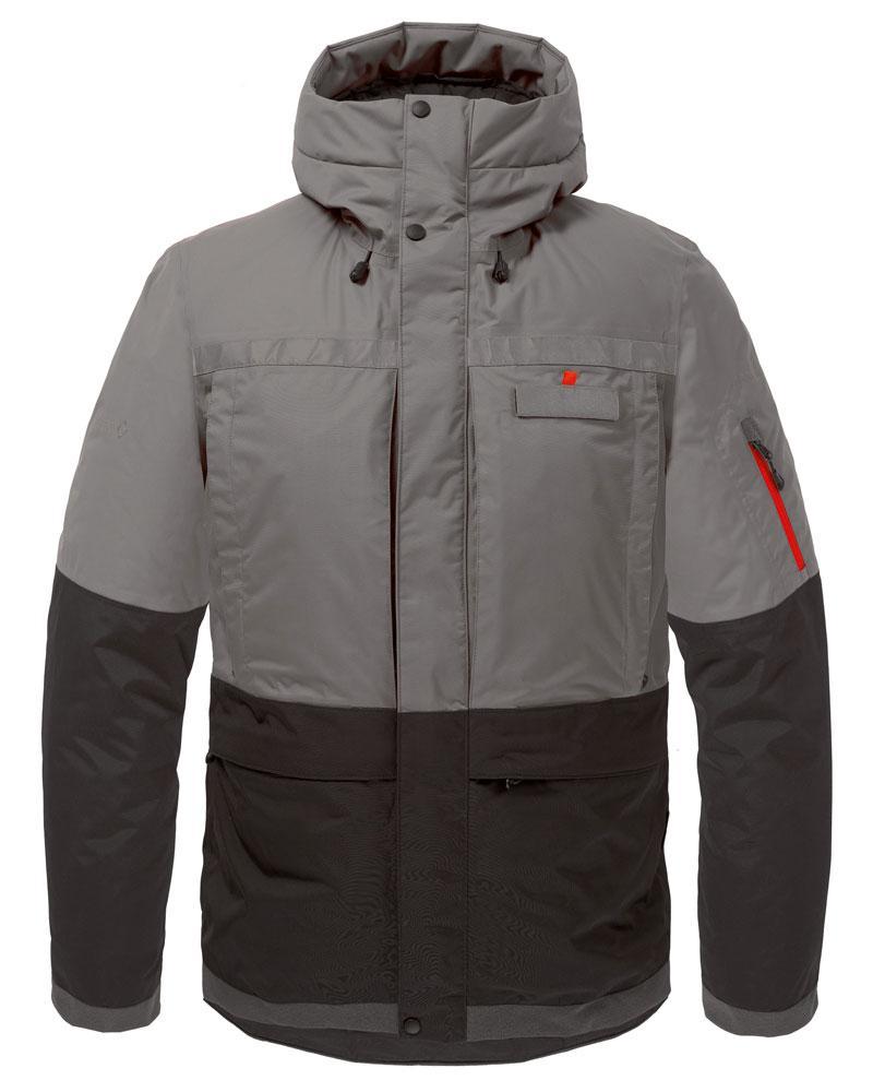 Куртка утепленная Malamute МужскаяКуртки<br><br> Функциональная куртка с повышенными водоотталкивающими свойствами, выполнена с применениемплотной внешней мембранной ткани и высок...<br><br>Цвет: Темно-серый<br>Размер: 60
