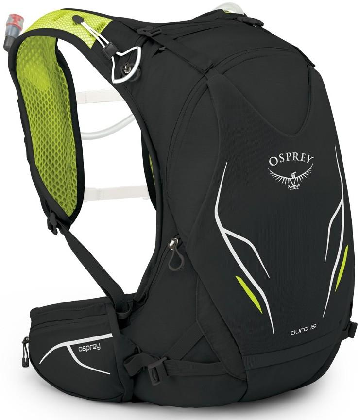 Osprey Рюкзак Duro 15 (M-L, Electric Black, , ,) цена 2017