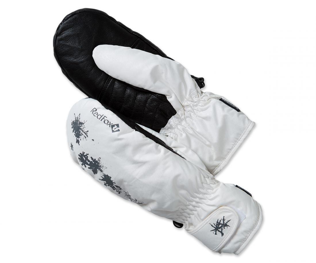 Рукавицы утепленные Paradise II ЖенскиеВарежки<br><br> Прогулочные утепленные рукавицы с ярким дизайном<br><br><br> Основные характеристики<br><br><br>манжет с регулировкой объема на липучке<br>усиления в области ладони<br>карабин для крепления рукавиц к одежде или ме...<br><br>Цвет: Белый<br>Размер: L