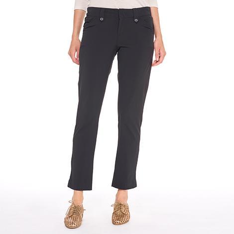 Брюки LSW1304 ROMINA PANTSБрюки, штаны<br><br> Элегантные женские брюки Lole Romina Pants имеют длину 7/8. Модель LSW1304 отлично подходит для прогулок в жаркую погоду. Легкие и удобные, они не стесняют движения, быстро испаряют влагу и защищают вредного воздействия солнечных лучей.<br><br>...<br><br>Цвет: Черный<br>Размер: 8