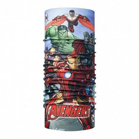 Buff Бандана BUFF SUPERHEROES JR ORIGINAL BUFF (One Size, AVENGERS ASSEMBLE MULTI, , ,) банданы buff бандана 2016 17 reflective r xyster multi multi standard us one size