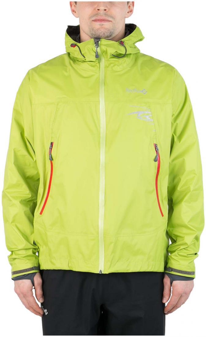 Куртка ветрозащитная Trek IIКуртки<br><br><br> Легкая влаго-ветрозащитная куртка для использованияв ветреную или...<br><br>Цвет: Салатовый<br>Размер: 46