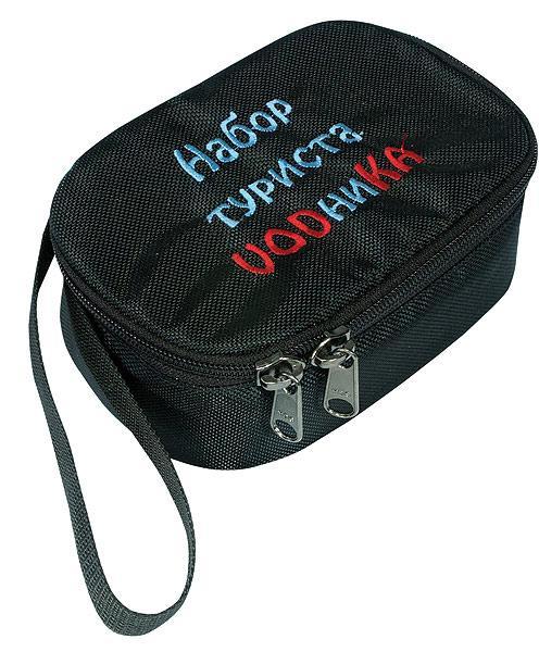 Набор туриста-VODниКААксессуары<br>НАБОР ТУРИСТА-VODниКА незаменим во время активного отдыха. Представляет собой 6 стопок объемом по 50 грамм, которые упакованы в мягкий, защитн...<br><br>Цвет: Черный<br>Размер: None