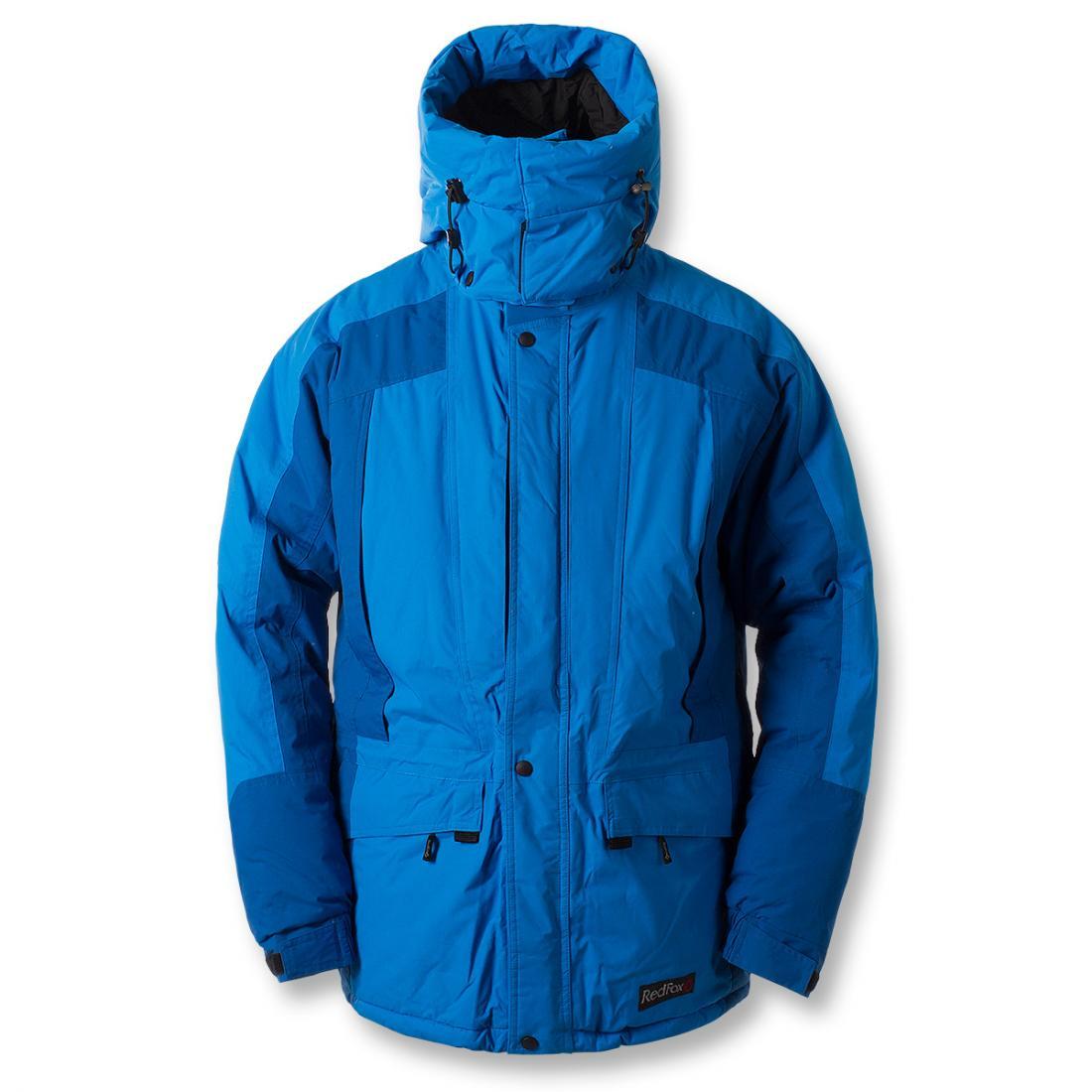 Куртка утепленная Snow Man МужскаяКуртки<br><br>Универсальная мужская утеплённая куртка создана специально для условий Крайнего Севера. Плотная внешняя мембранная ткань создает идеа...<br><br>Цвет: Кобальт<br>Размер: 60