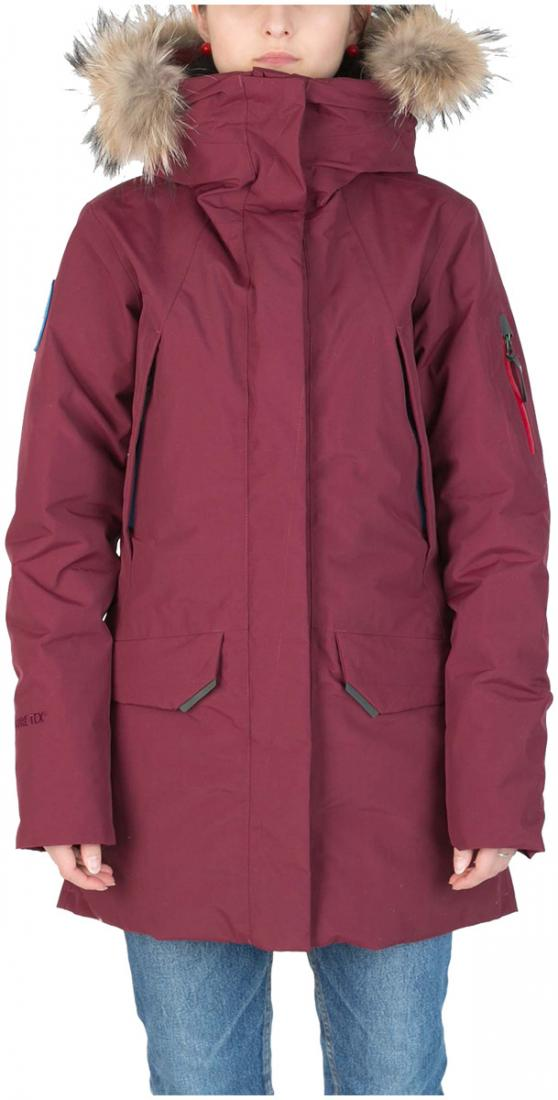 Куртка пуховая Kodiak II GTX ЖенскаяКуртки<br><br><br>Цвет: Бордовый<br>Размер: 52
