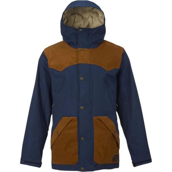 Куртка MB FOLSOM JK муж. г/лКуртки<br>Классический дизайн в блочной расцветке и максимально удобное расположение нагрудных карманов. Куртка Burton Folsom выполнена из дышащего водонепроницаемого 2-слойного материала DRYRIDE Durashell и позволит Вам оставаться в сухости и тепле весь день ка...<br><br>Цвет: Темно-синий<br>Размер: S