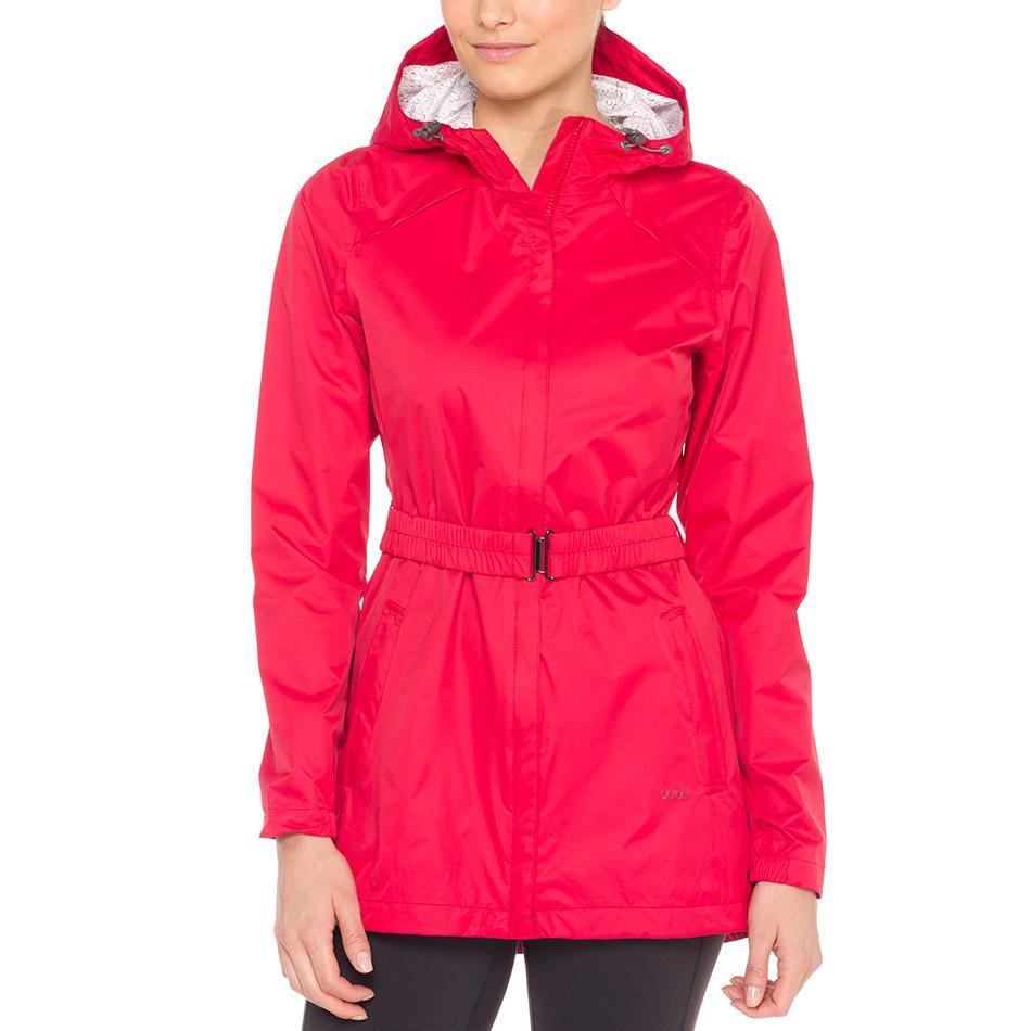 Куртка LUW0281 STRATUS JACKETКуртки<br><br><br><br> Непогода не повод отменять прогулку, если у вас есть стильная непромокаемая женская куртка Lole Stratus Ja...<br><br>Цвет: Красный<br>Размер: L