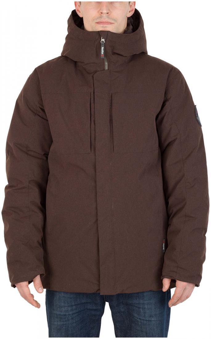 Полупальто пуховое Urban Fox МужскоеПальто<br><br> Пуховая куртка минималистичного дизайна из прочного материала c «m?lange» эффектом, обладает всеми необходимыми качествами, чтобы полнос...<br><br>Цвет: Коричневый<br>Размер: 56