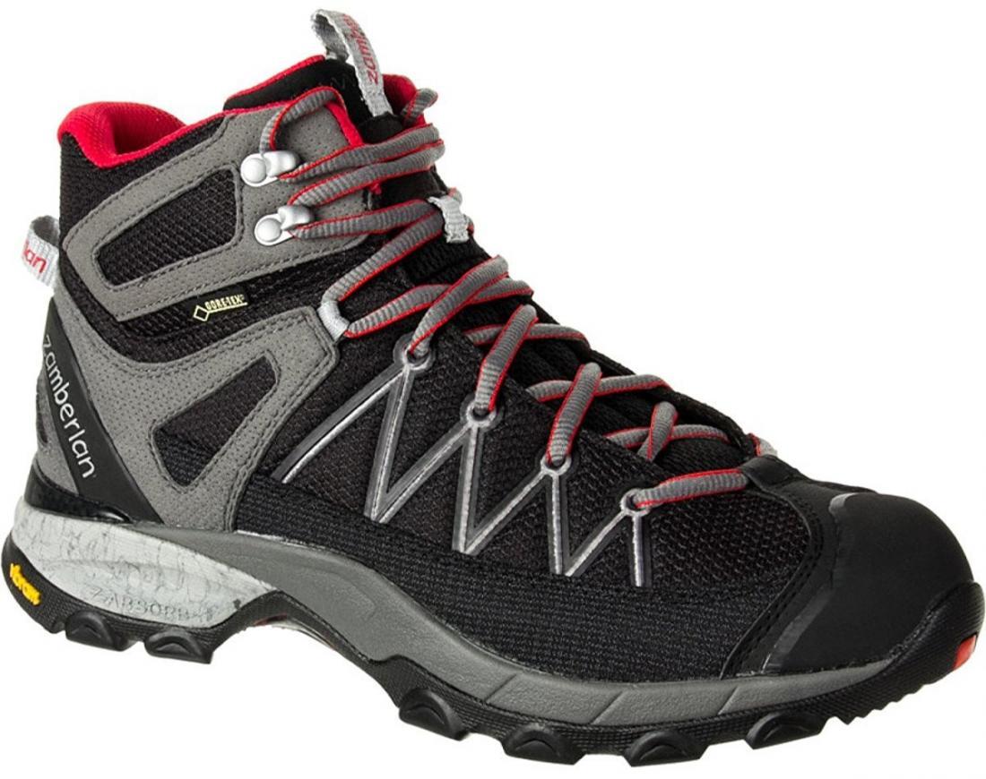 Ботинки 230 CROSSER PLUS GTX RRТреккинговые<br><br> Стильные удобные ботинки средней высоты для легкого и уверенного движения по горным тропам. Комфортная посадка этих ботинок усовершенствована за счет эксклюзивной внешней подошвы Zamberlan® Vibram® Speed Hiking Lite, мембраны GORE-TEX® и просторной...<br><br>Цвет: Черный<br>Размер: 43