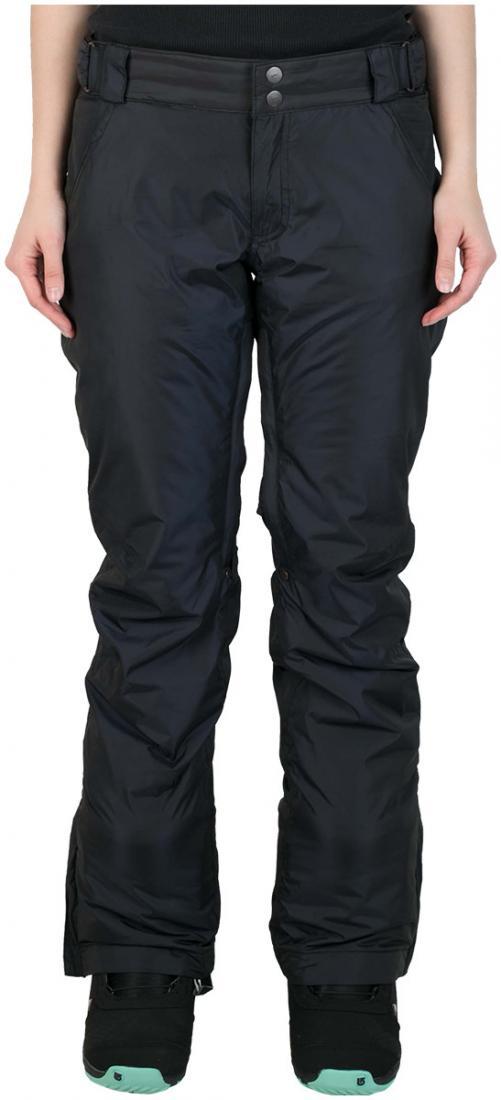 Штаны сноубордические утепленные Pure женскиеБрюки, штаны<br>Женские утепленные штаны, которые не увеличивают формы! За счет правильного кроя и удачной посадки сноубордические штаны Pure W сохраняют т...<br><br>Цвет: Черный<br>Размер: 50