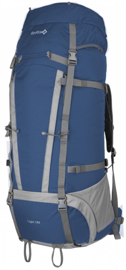 Рюкзак Light 100 V3Туристические, треккинговые<br>Функциональный рюкзак для продолжительных походов.<br><br>назначение: продолжительные походы<br>подвесная система IBC<br>съемный мягкий поясной ремень анатомической формы<br>два независимых отделения на молнии<br>съе...<br><br>Цвет: Синий<br>Размер: None