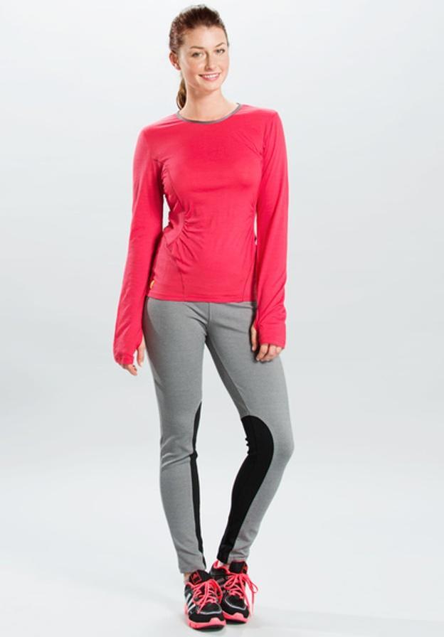Топ LSW0752 PONDER 2 TOPФутболки, поло<br><br> Топ Ponder 2 Top LSW0752 – практичная футболка для девушек, которую можно использовать в качестве обычного лонгслива и нательного термобелья. Г...<br><br>Цвет: Красный<br>Размер: L