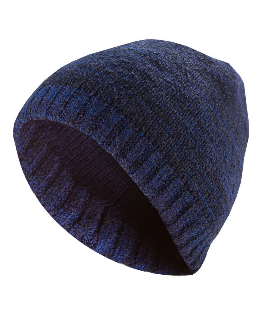 Шапка OrionШапки<br>Зимняя прогулочная шапка c оригинальным орнаментом<br><br>комфортная посадка<br>эргономичная конструкция кроя<br><br> <br><br>Основное назначение: Повседневное городское использование<br>Материал: 100% Acrylic<br>...<br><br>Цвет: Темно-синий<br>Размер: None
