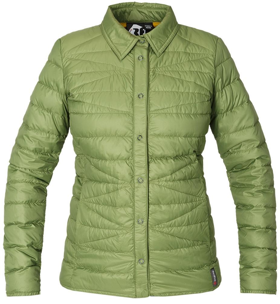 Рубашка пуховая Yuki ЖенскаяРубашки<br><br> Городская пуховая рубашка лаконичного дизайна соригинальной стежкой.<br> Эргономичная и легкая модель, можно использовать вкачестве теплой рубашки в холодное время года иликак дополнительный утепляющий слой для сохранениятепла.<br><br> Основ...<br><br>Цвет: Хаки<br>Размер: 48