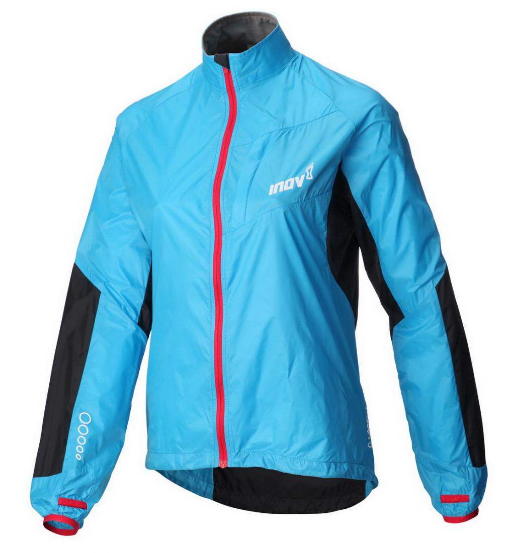 Inov-8 Куртка Race Elite 100 Windshell W (XS, Turquoise/Barberry, ,) inov 8 футболка at c tri blend ss strip w 6 black pink
