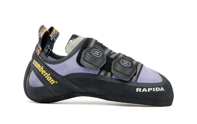 Скальные туфли A80-RAPIDA WNSСкальные туфли<br><br>Многонаправленные застежки Velcro (запатентованная система)<br>Специальная обработка замши позволяет сохранить форму колодки<br>&lt;l...<br><br>Цвет: Фиолетовый<br>Размер: 36.5
