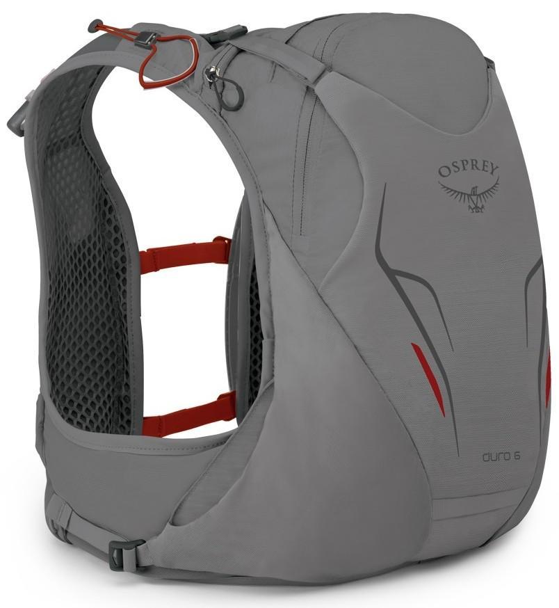 Рюкзак Duro 6Спортивные<br>Duro – абсолютно новый рюкзак для бега от известного бренда Osprey из коллекции Весна17. Продуманные детали и бескомпромиссный набор функций для исключительной производительности бегового рюкзака.<br>Duro 6 — средний рюкзак для бега, в котором пр...<br><br>Цвет: Серый<br>Размер: 6 л