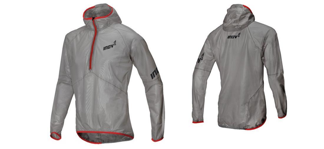 Куртка Race Ultrashell HZ UКуртки<br>Самый легкий дождевик inov-8 весом всего 125г. Создан для использования в условиях гор и для спортсменов-экстремалов, стремящихся двигаться быстро и легко. Ткань куртки прозрачная, так что при использовании во время соревнований порядковый номер будет ...<br><br>Цвет: Серый<br>Размер: S