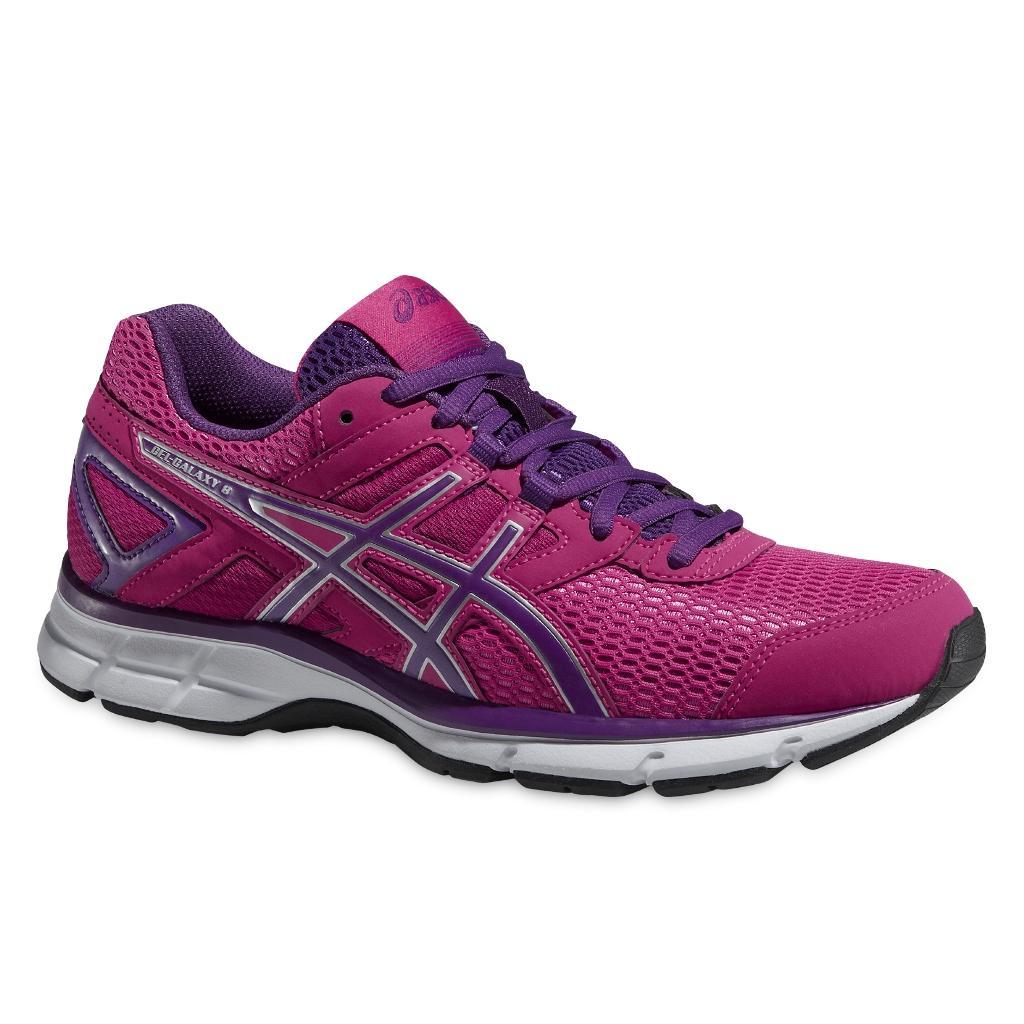 Кроссовки GEL-GALAXY 8 женскиеБег, Мультиспорт<br><br> GEL-GALAXY 8 T575N – беговые кроссовки с качественной амортизацией, которой славится компания Asics. <br><br><br> <br><br><br>Подошва – специальная и...<br><br>Цвет: Фиолетовый<br>Размер: 5.5