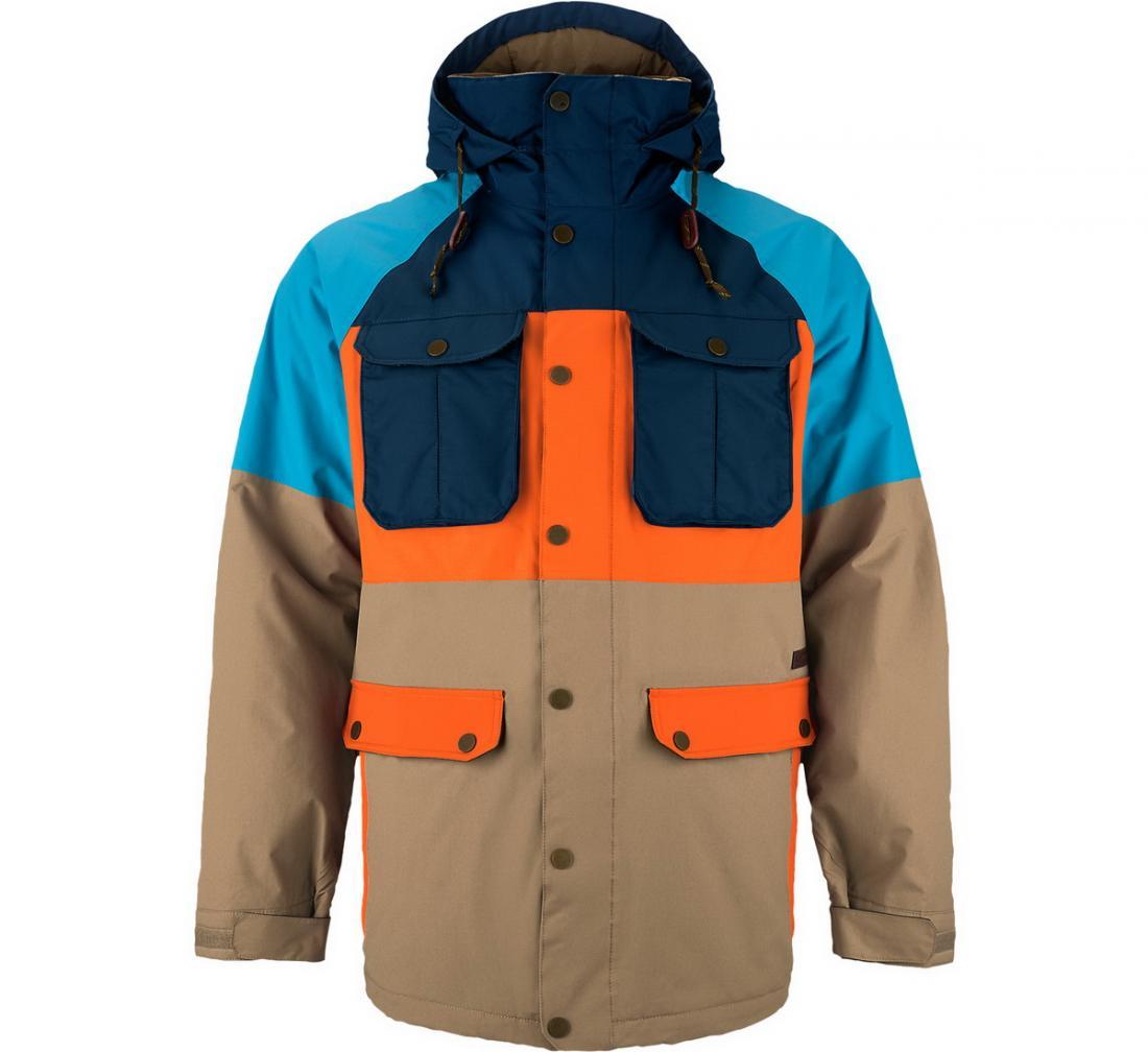 Куртка муж. г/л MB FRONTIERКуртки<br>Эта куртка создана для уверенных в себе, спортивных мужчин, которые предпочитают пассивному отдыху сноуборд. FRONTIER надежно защищает своего обладателя от снега, ветра и холода и позволяет кататься с удовольствием. Благодаря отличной посадке по фигуре, м...<br><br>Цвет: Голубой<br>Размер: S