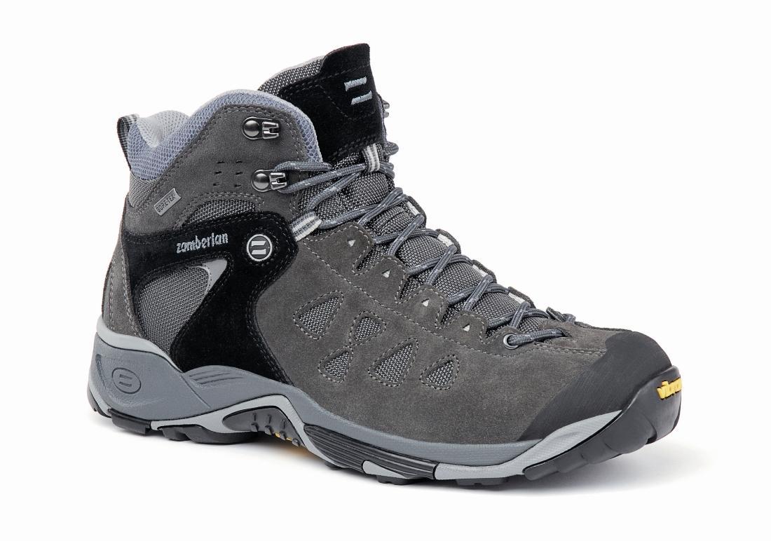 Ботинки 150 ZENITH MID GTТреккинговые<br><br> Многофункциональные туристические низкие ботинки с новым дизайном. Верх из спилока с защитной резиновой накладкой на носке. Обновленн...<br><br>Цвет: Темно-серый<br>Размер: 43