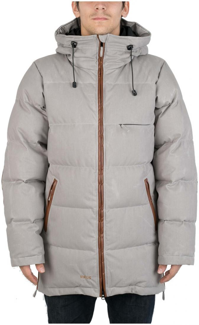 Куртка пуховая EclipseКуртки<br><br>Пуховая куртка с минималистичным дизайном, изготовлена из денима трех цветов, в черном и сером вариантах с ваксовым покрытием. eclipse буде...<br><br>Цвет: Серый<br>Размер: 52
